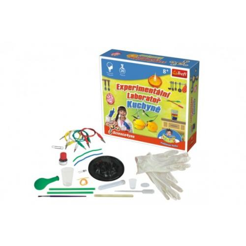 Experimentální laboratoř Kuchyně vědecká hra 20 pokusů Science 4 you v krabici 23x22x6cm