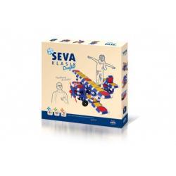 Stavebnice SEVA KLASIK Dvojka plast 366ks v krabici 36x33,5x5cm