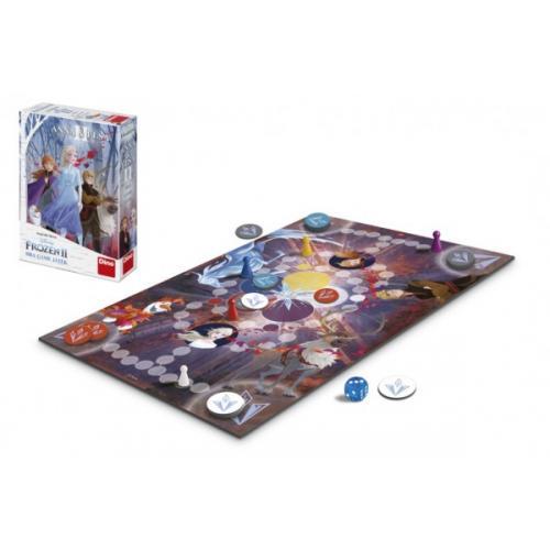 Anna a Elsa II společenská hra Ledové království II/Frozen II v krabici 20x29,5x6,5cm