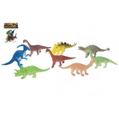 Dinosaurus 8 ks plast 10 cm v sáčku