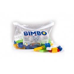 Stavebnice Cheva Bimbo 70 plast 70ks kostek v plastové tašce