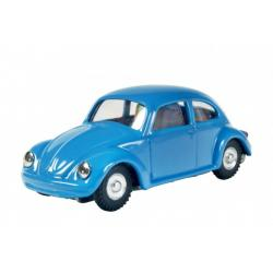 Auto VW brouk na klíček kov 11cm modré v krabičce Kovap