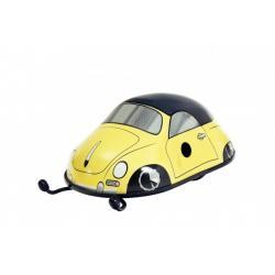 Porsche 356 Cabrio žluté na klíček kov 11cm v krabičce Kovap