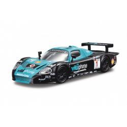 Auto Bburago Race 1:43 kov/plast 5 druhů v krabičce 13x7x6,5cm 24ks v boxu