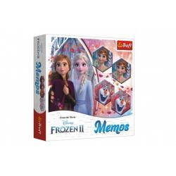 Pexeso papírové Ledové království II/Frozen II společenská hra 36 kusů v krabici 20x20x5cm