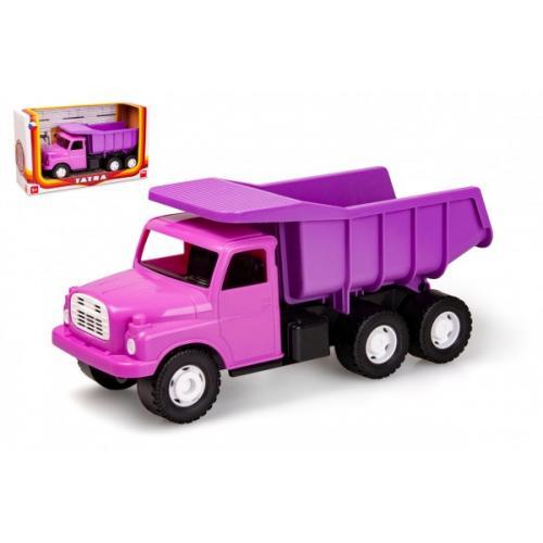 Auto Tatra 148 plast 30cm růžová v krabici 35x18x12,5cm