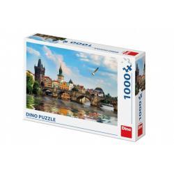 Puzzle Karlův most 66x47cm 1000 dílků v krabici 32x23x7cm