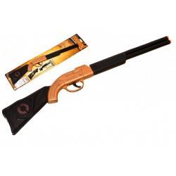 Pistole/Puška klapací plast 50cm na kartě