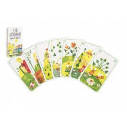 Prší jednohlavé dětské Čtyři roční období společenská hra v plastové krabičce 7x11x1,5cm