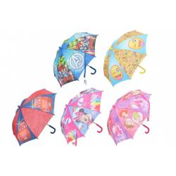 Deštník 55cm 5 druhů v sáčku