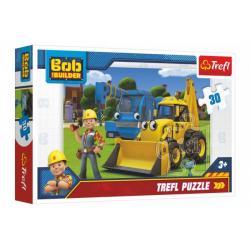 Puzzle Bořek Stavitel 27x20cm 30 dílků v krabici 21x14x4cm