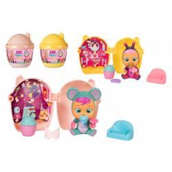 CRY BABIES Magické slzy plast 3.série panenka s domečkem a doplňky 2 druhy 12ks v boxu