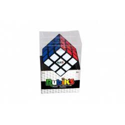 Rubikova kostka hlavolam 3x3x3 Originál plast v krabici  9x13x6,5cm