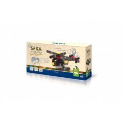 Stavebnice SEVA ARMÁDA Speciální jednotka plast 162ks v krabici 31,5x16,5x7,5cm