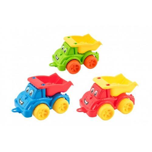 Auto stavební sklápěčka kamion plast 3 barvy 22x13x10cm 12m+