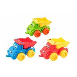 Auto stavební sklápěčka plast 3 barvy 22x13x10cm 12m+