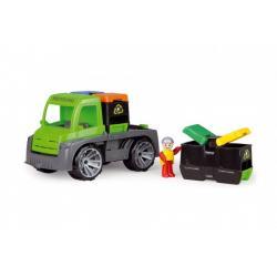 Auto Truxx auto s kontejnery s figurkou plast 28cm v krabici 39x16x22cm 24m+