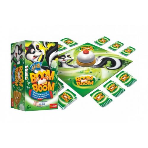 Boom Boom Smraďoši společenská hra v krabici 15x16x10cm