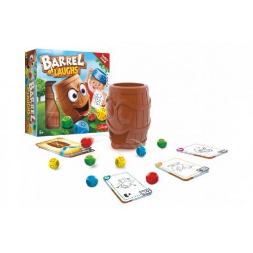 Barel smíchu/Barrel of laughs společenská hra v krabici 26x26x8cm