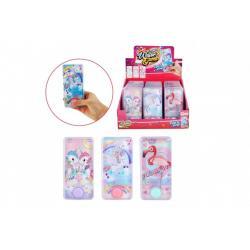 Vodní hra hlavolam pro holky plast 7x14cm 3 druhy 24ks v boxu