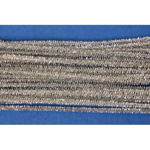Drátky dekorační 6 mm 07 stříbrné