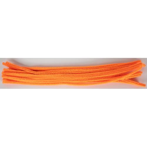 Drátky dekorační 6 mm 13 oranžové