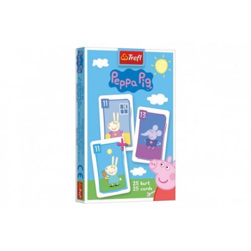 Černý Petr Prasátko Peppa/Peppa Pig společenská hra - karty v krabičce 6x9x1cm 20ks v boxu
