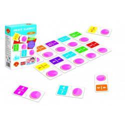 Hra školou® Hravé zlomky naučná hra v krabici 16x25x5cm