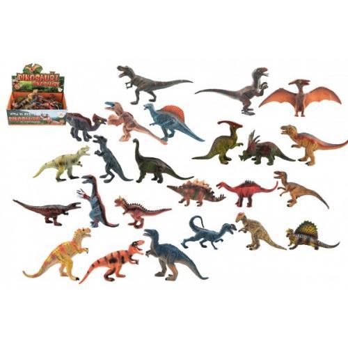 Dinosaurus plast 11-14cm mix druhů 24ks v boxu