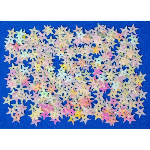 Flitry hvězdy DPCE-038 bílé DP