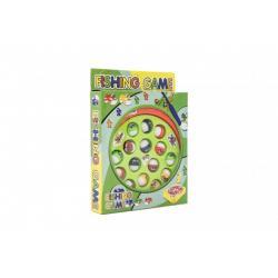 Hra Ryby/Rybář společenská hra 16x17,5cm na baterie v krabici 16x22x3,5cm