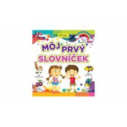 Knižka Môj prvý slovníček SK verze 20x21cm