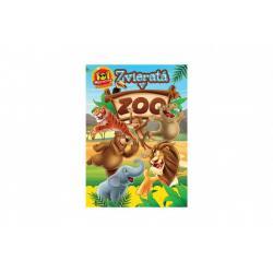Aktivity Zvieratá v ZOO 101 so samolepkami SK verzia 21x30cm