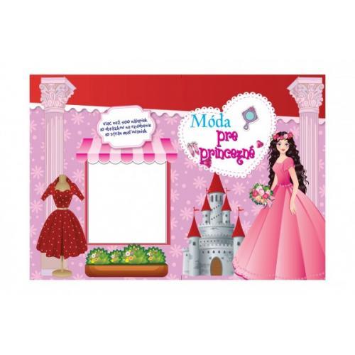 Blok Móda pre princezné so samolepkami SK verzia 35x25cm