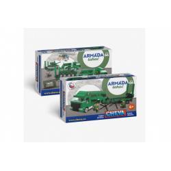 Stavebnice Cheva 66 Tahač plast 500ks v krabici 38,5x24x9cm