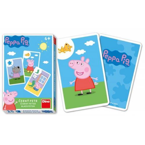 Černý Petr Prasátko Peppa/Peppa Pig společenská hra - karty v krabičce 6x9x1cm