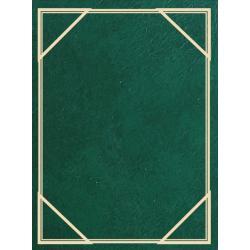 Fotoalbum MM-46100 Vinyl 3 zelené