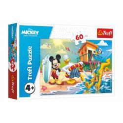 Puzzle Mickey a Donald Disney 33x22cm 60 dílků v krabici 21x14x4cm