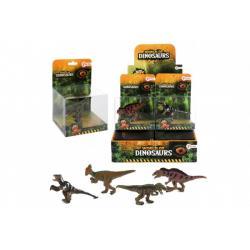 Dinosaurus plast 7cm 4 druhy v krabičce 12ks v boxu