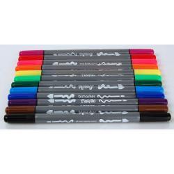 Popisovač GR-F816 Bimarker 12 barev