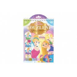 Kouzlení s fóliovými obrázky Princezny Disney 17,5x26cm