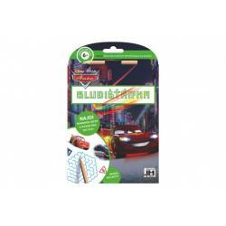 Bludišťárna s tužkou Auta/Cars 15x21cm