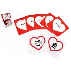 Ikonikus - Hra o emocích společenská hra v krabičce 10x10x7,5cm