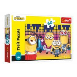 Puzzle Mimoni/Já, padouch 60 dílků 33x22cm v krabici 21x14x4cm