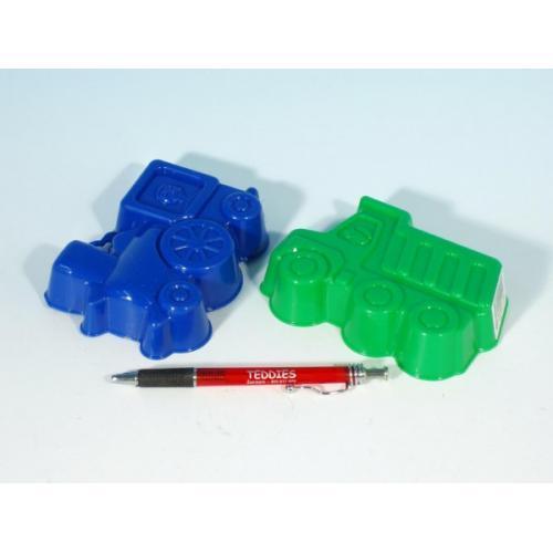 Formičky Bábovky plast 13cm asst 4 barvy v síťce 12m+