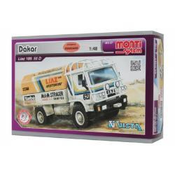 Stavebnice Monti System MS 07 Dakar Liaz 1:48 v krabici 22x15x6cm