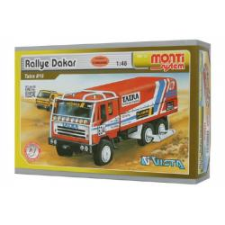 Stavebnice Monti System MS 10 Rallye Dakar Tatra 815 1:48 v krabici 22x15x6cm