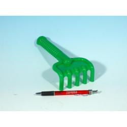 Hrabičky plast 19cm 4 barvy 12m+
