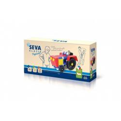 Stavebnice SEVA KLASIK Nejmenší plast 115ks v krabici 31,5x16,5x7,5cm