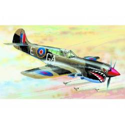 Model Curtiss P-40 K Kittyhawk MK.3 13,2x15,7cm v krabici 25x14,5x4,5cm